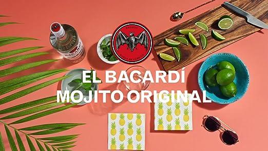 Bacardi Carta Blanca Ron - 1000 ml