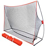 GoSports Golf Practice Hitting Net - Choose Between Huge 10' x 7' or 7' x 7' Nets -Personal Driving Range for Indoor or…