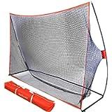 GoSports Golf Practice Hitting Net - Choose Between Huge 10' x 7' or 7' x 7' Nets -Personal Driving Range for Indoor or…