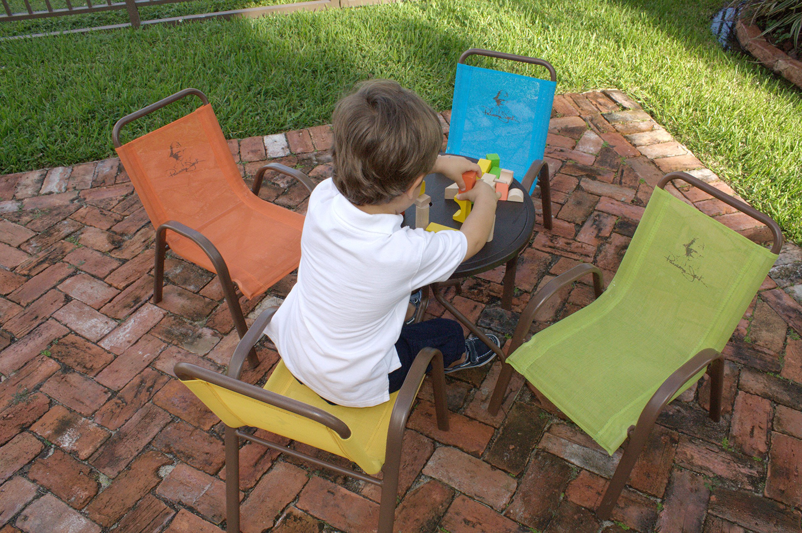 Panama Jack Kids 5-Piece Outdoor Dining Set, Multicolored by Panama Jack Kids (Image #5)
