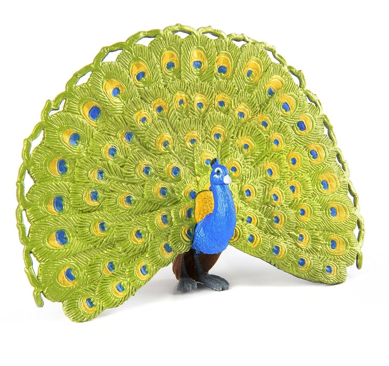 amazon com safari ltd wings of the world peacock toys u0026 games