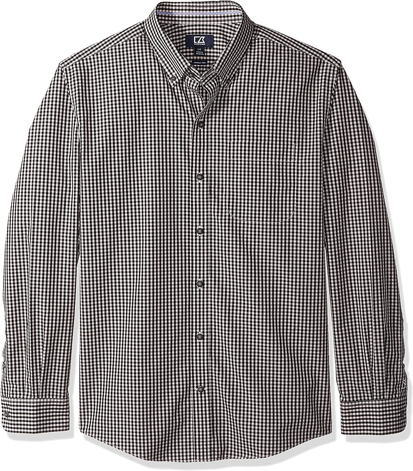 Cutter Buck Men's Big and New product type Tall Check Willard S L Free Sale Special Price Wrinkle