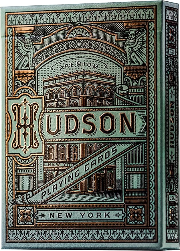 Amazon.com: theory11 Hudson Playing Cards: Sports & Outdoors