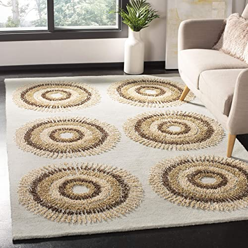 Safavieh Soho Collection SOH719C Handmade Premium Wool Area Rug