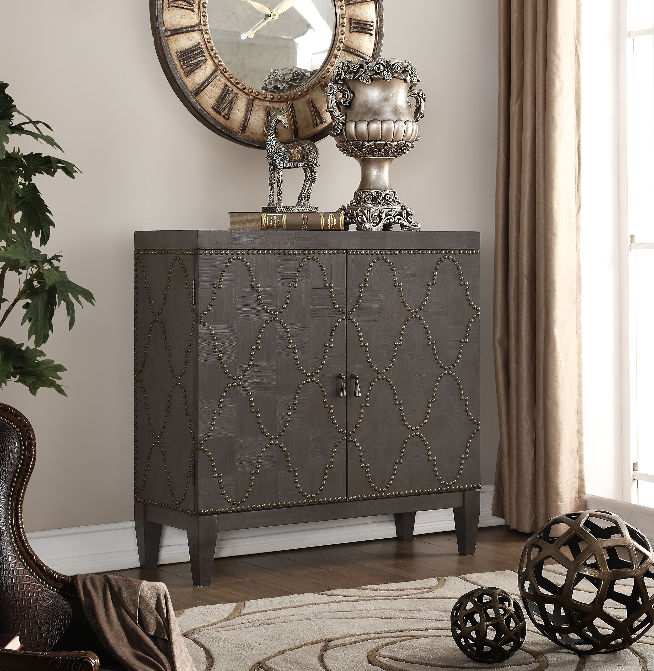 ACME Furniture 90298 Cherie Console Table, Antique Black by Acme Furniture (Image #6)