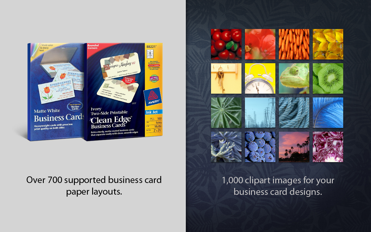Amazon business card composer download software reheart Image collections