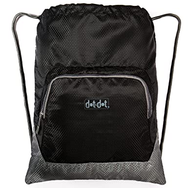 Amazon.com | Gymsack Drawstring Bag with Pockets - Big, Water ...