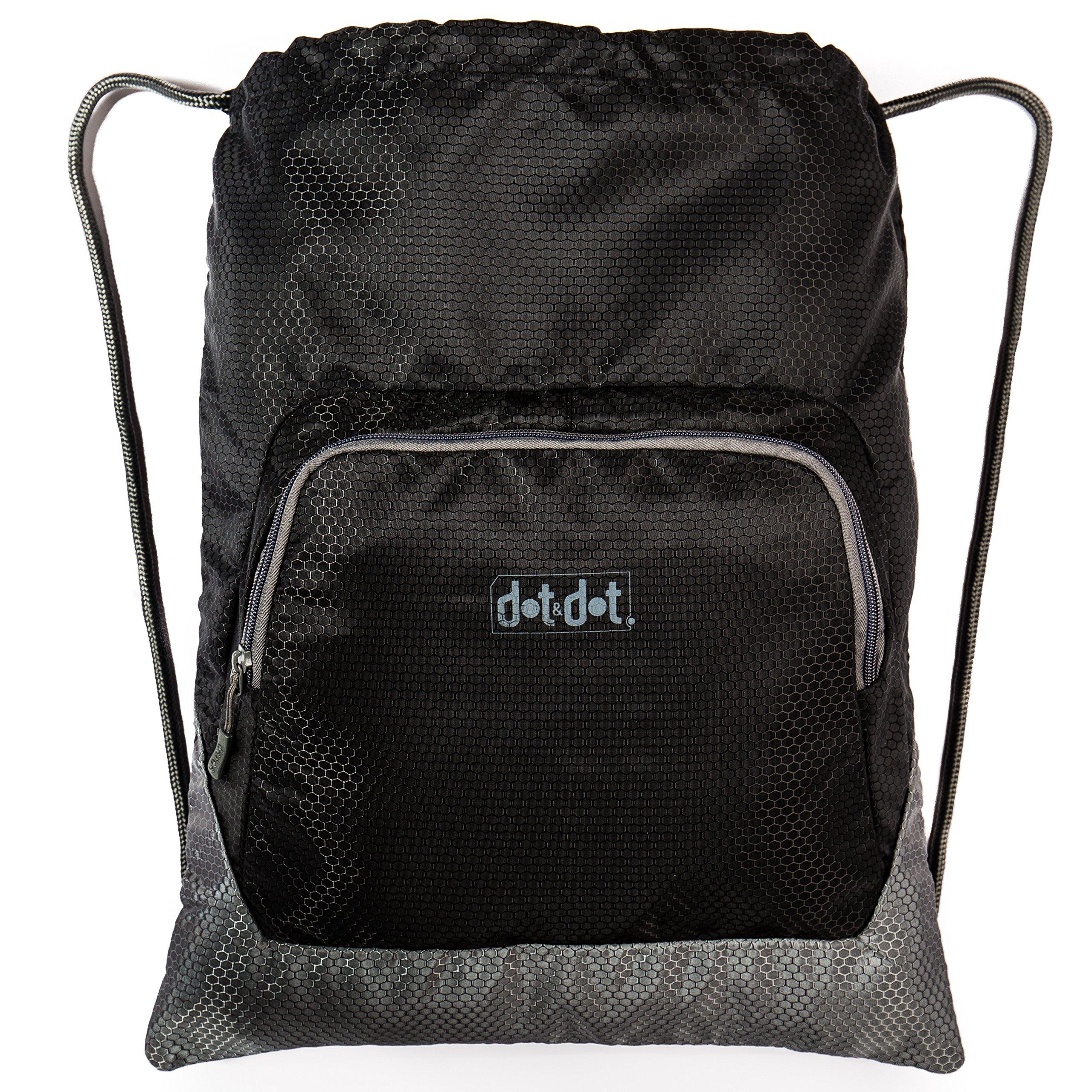 Gymsack Drawstring Bag-Water Resistant & Lightweight Backpack