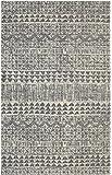 Mohawk Berkshire Billerica Geometric Woven Soft Shag Area Rug, 5'x8', Grey
