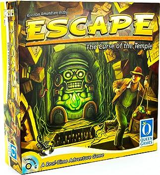 ESCAPE - Juego de Tablero (Queen Games QUE60903) [Importado de ...