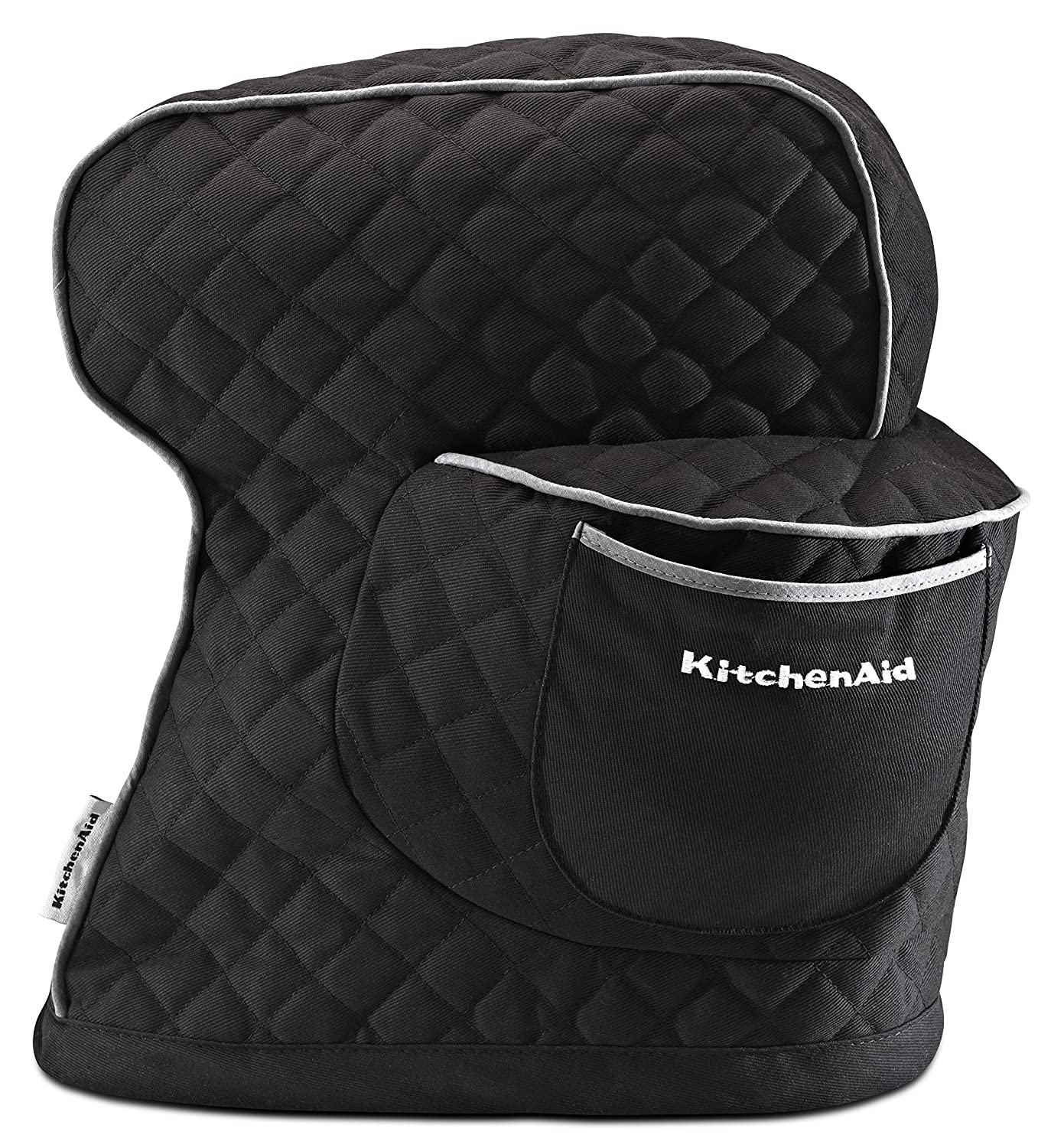 KitchenAid KSMCT1OB Fitted Stand Mixer Cover - Onyx Black