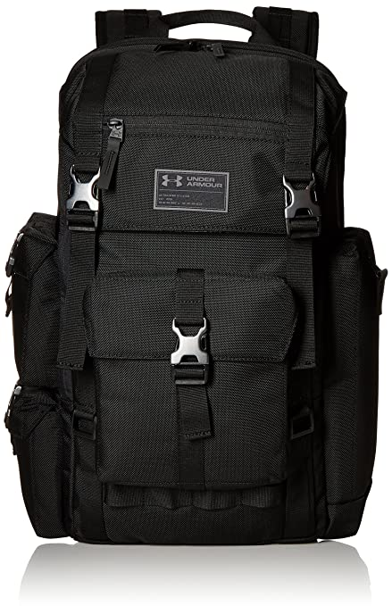 Size Black One Under Regiment Backpack Armour Cordura fgby76