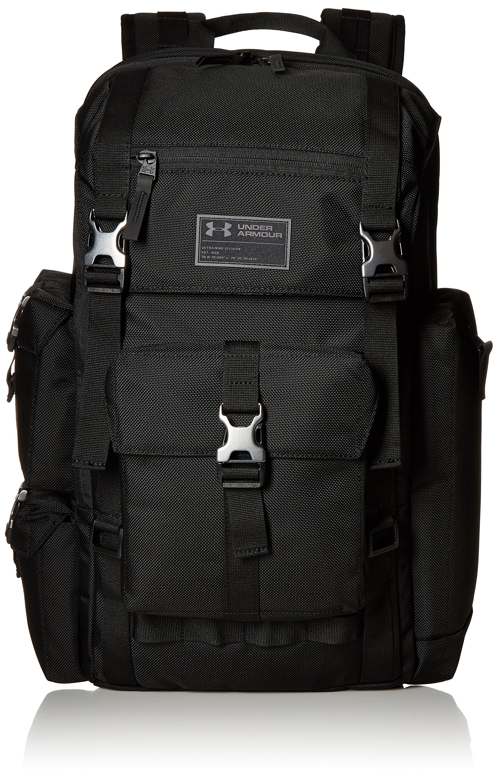Under Armour Project Rock 60 Duffle Bag Back Pack Brand Black NWT.  94.99. Under  Armour CORDURA Regiment Backpack d50e91719c266