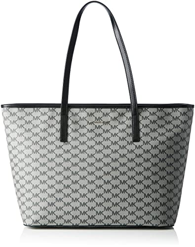 d38ef7a2525bd8 Amazon.com: Michael Kors Emry Top Zip Large Tote BLACK: Shoes