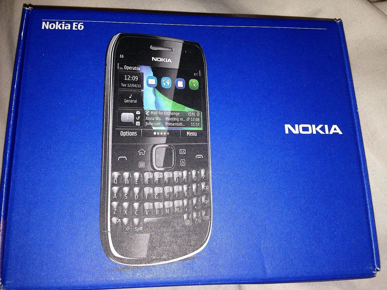 Nokia E6-00 8GB Negro - Smartphone (6,25 cm (2.46