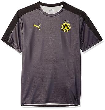 a37ddcfe6 Amazon.com  PUMA Men s BVB Stadium Jersey Without Sponsor Logo  Clothing
