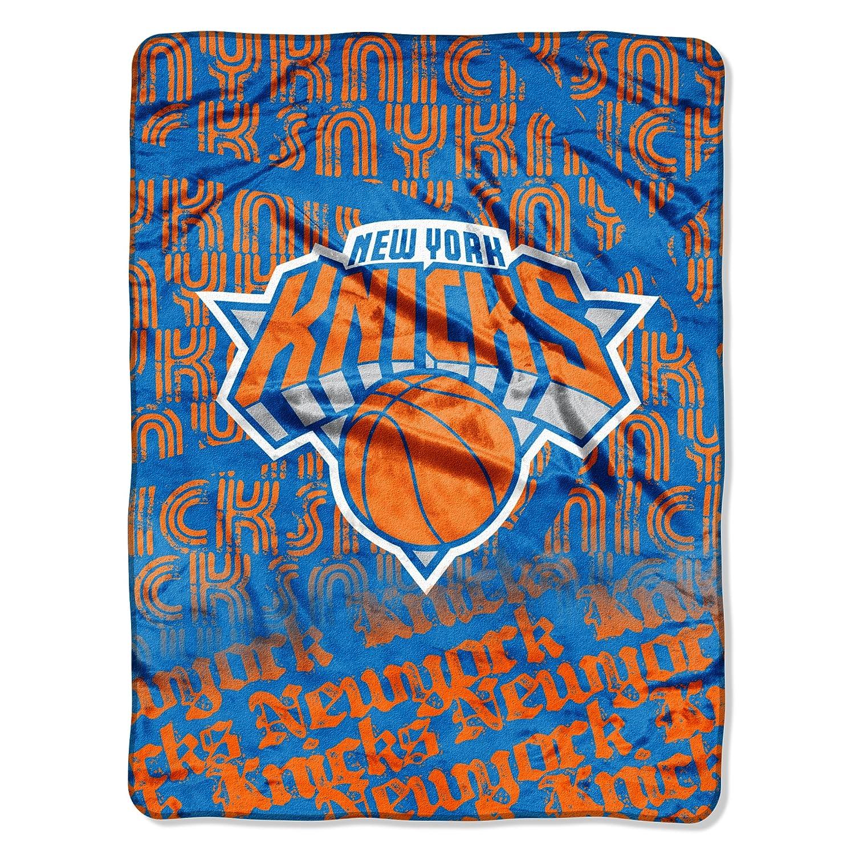 Northwest NBA New York Knicks Redux Micro Raschel Blanket, 46 x 152,4 cm 46x 152 4cm The Northwest Company NBA059000018RET