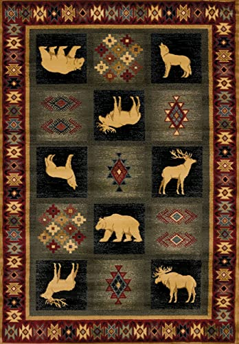 United Weavers of America Genesis Dakota Natural 5 3 x 7 6 Area Rugs