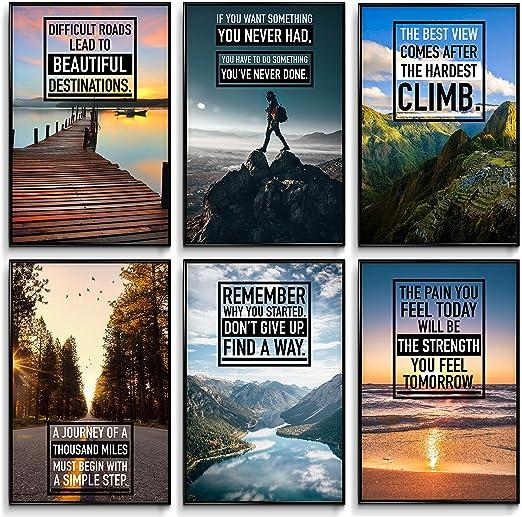 Poster Motivational Self Positive Office Inspirational Art Wall Print 94