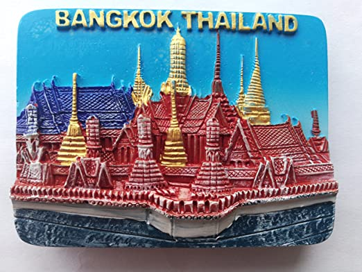 svg4Z SOUVENIR FROM BANGKOK FRIDGE MAGNET