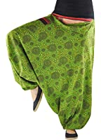Les sarouels virblatt unisexe avec des motifs et des tissages traditionnels de toutes les tailles - vêtements ethniques L Naturverbunden
