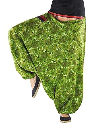 virblatt Haremshose Damen mit traditionellen Webereien  Amazon.de   Elektronik e5abc65c71