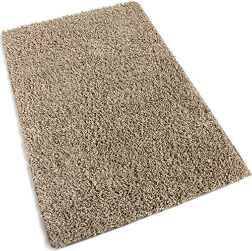 2 x3 Beach Path Beige Frieze Shag Indoor Area Rug Carpet. Soft and Plush 32 oz 3 4 Thick Frieze Indoor Area Rug