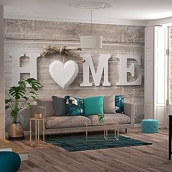 decomonkey   Fototapete Home Haus 350x256 cm XXL   Design Tapete ...