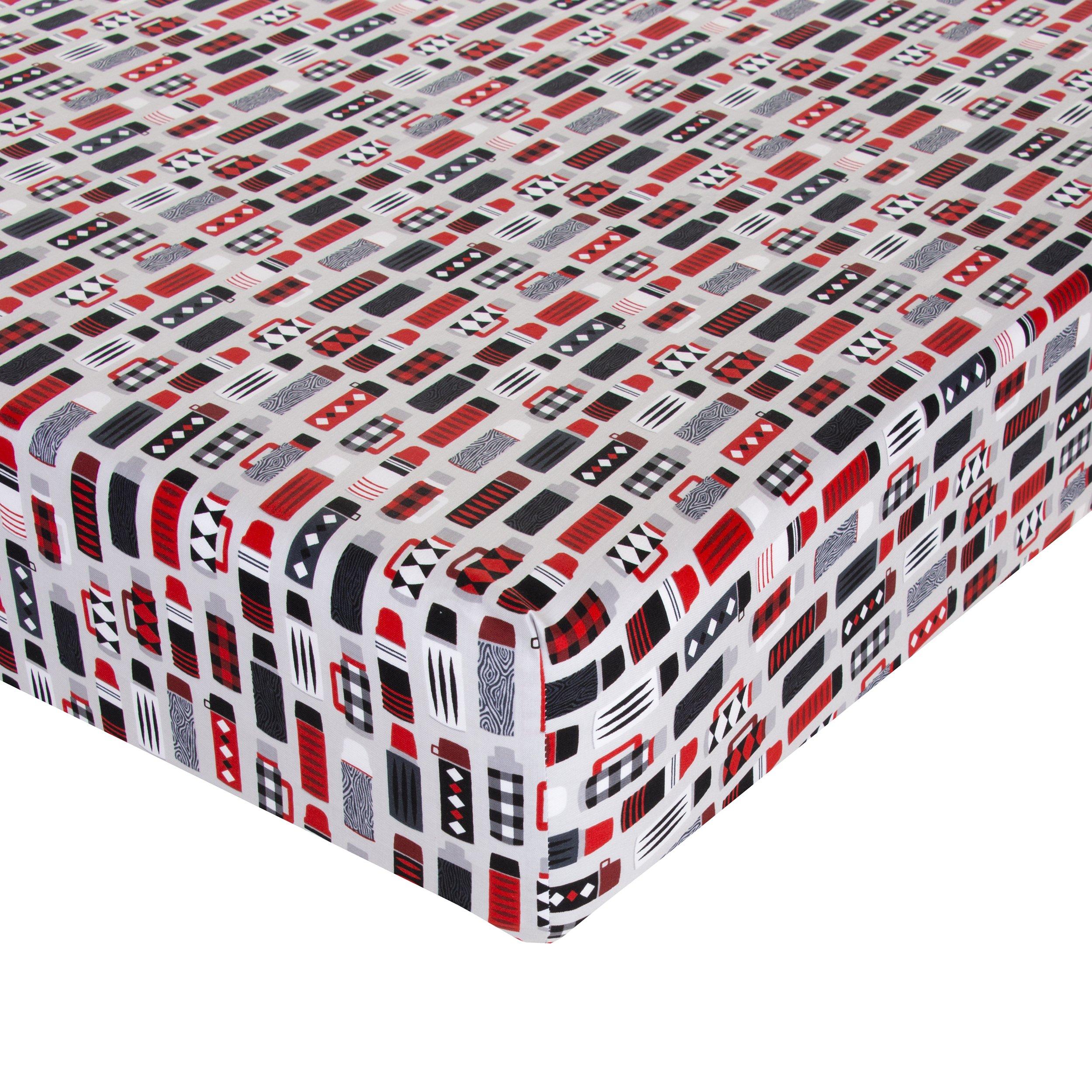 Glenna Jean Thermos Crib Sheet Fitted 28''x52''x8'' Nursery Standard