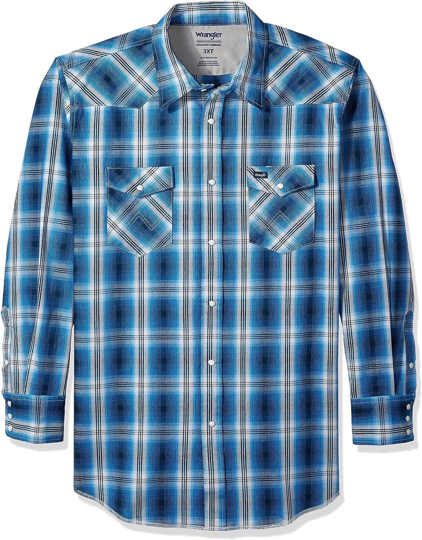 Wrangler Hombre MACW1T Camisa con Botones - Multi - 3XT: Amazon.es: Ropa y accesorios