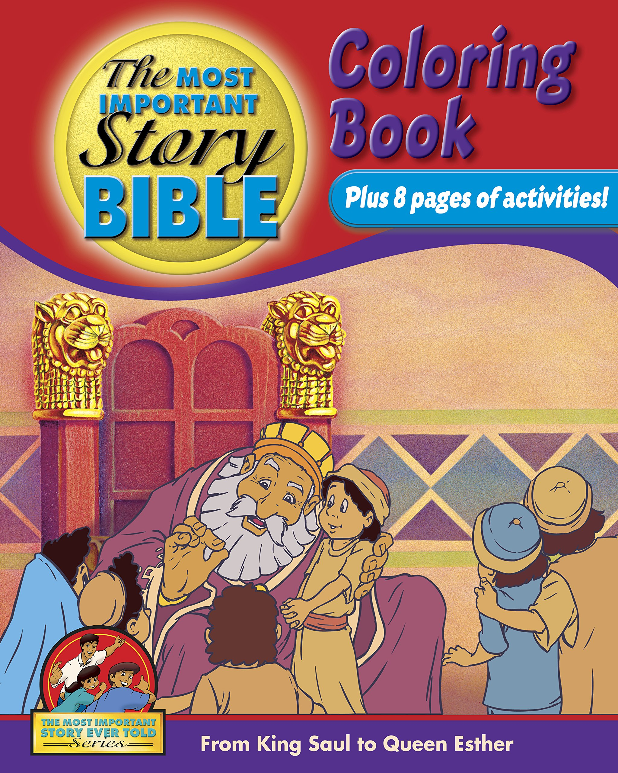 Download Coloring And Activity Book Vol 2 - English: From King Saul To Queen Esther ebook
