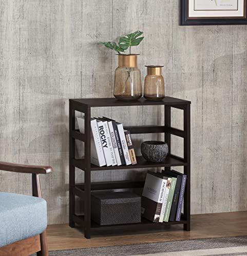2L Lifestyle Hyder Wood Shelf, Espresso