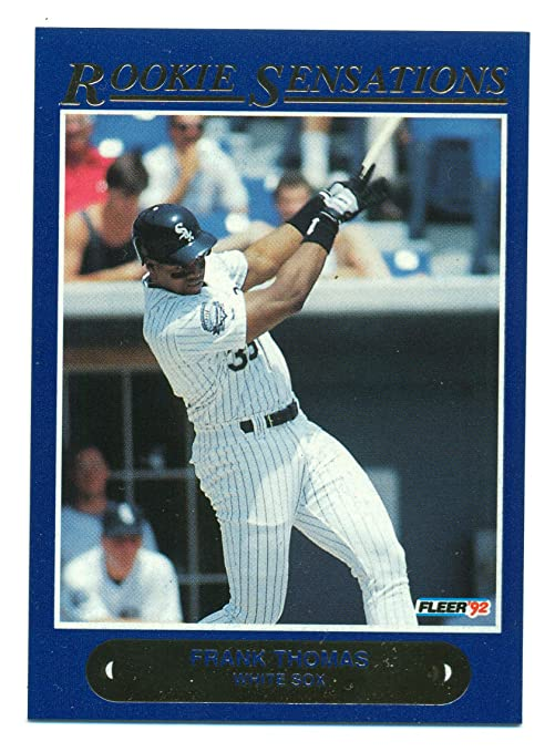 1992 Fleer Frank Thomas Rookie Sensation 1 Of 20 Chicago