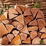 Hardwood Firewood Chunky Logs -Kiln Dried - Large Heavy 40 Litre, 25cm Long, Perfect for Open Fire Stoves, Log Burner, Fire Pits, Pizza Ovens Fast Delivery (3 X 15KG Net)