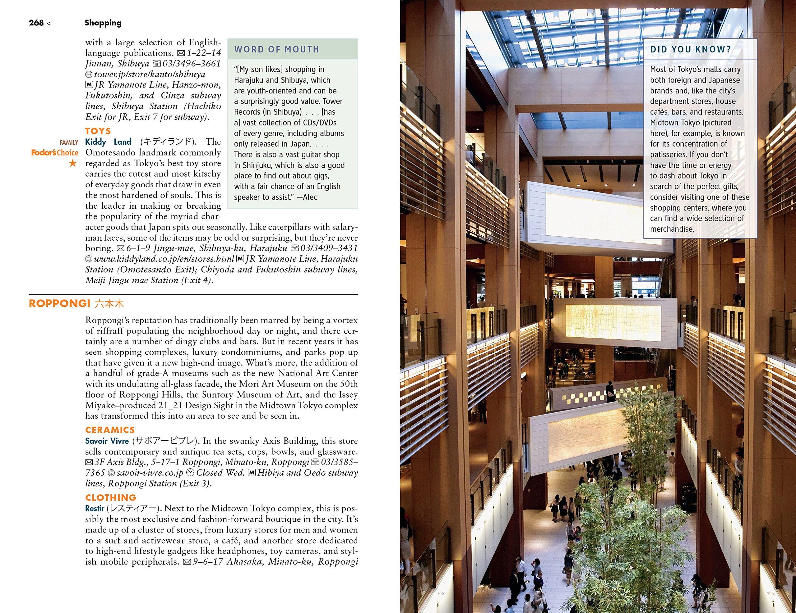 ad2e7213fbc Fodor's Tokyo (Full-color Travel Guide): Fodor's Travel Guides:  9780147546548: Amazon.com: Books