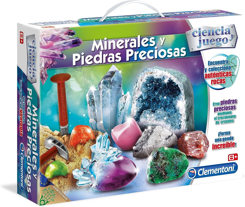 Clementoni - Minerales y Piedras Preciosas (95566.4)