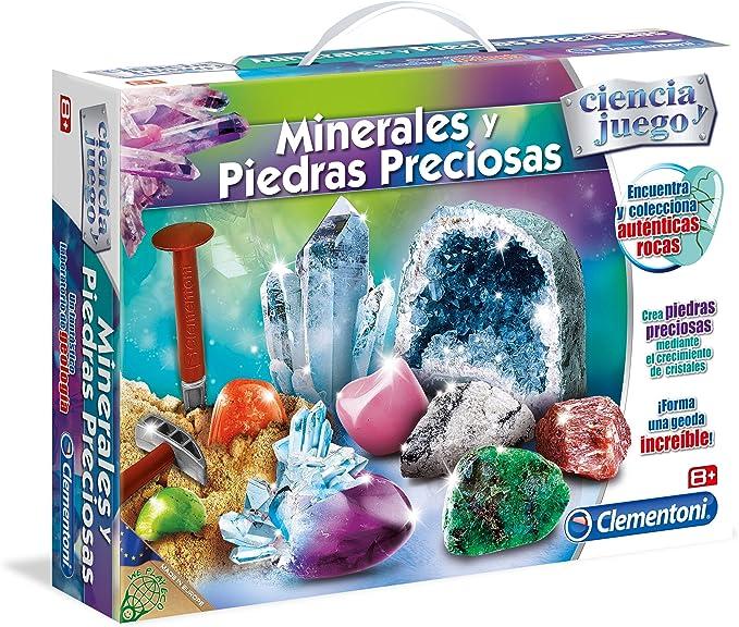 Clementoni - Minerales y Piedras Preciosas (95566.4): Amazon.es: Juguetes y juegos