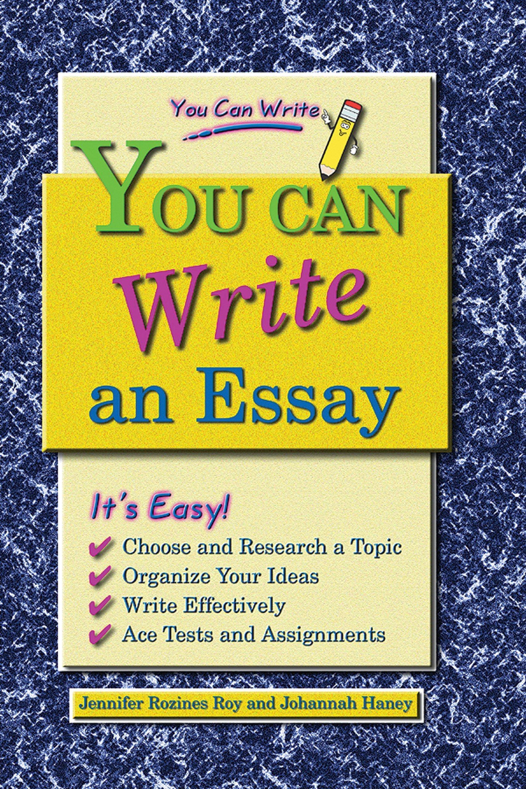 Download You Can Write an Essay pdf epub