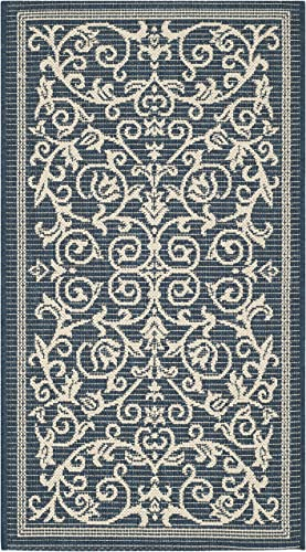 Safavieh Courtyard Collection CY2098-1E06 Indoor Outdoor Area Rug, 8 x 10 , Olive Natural
