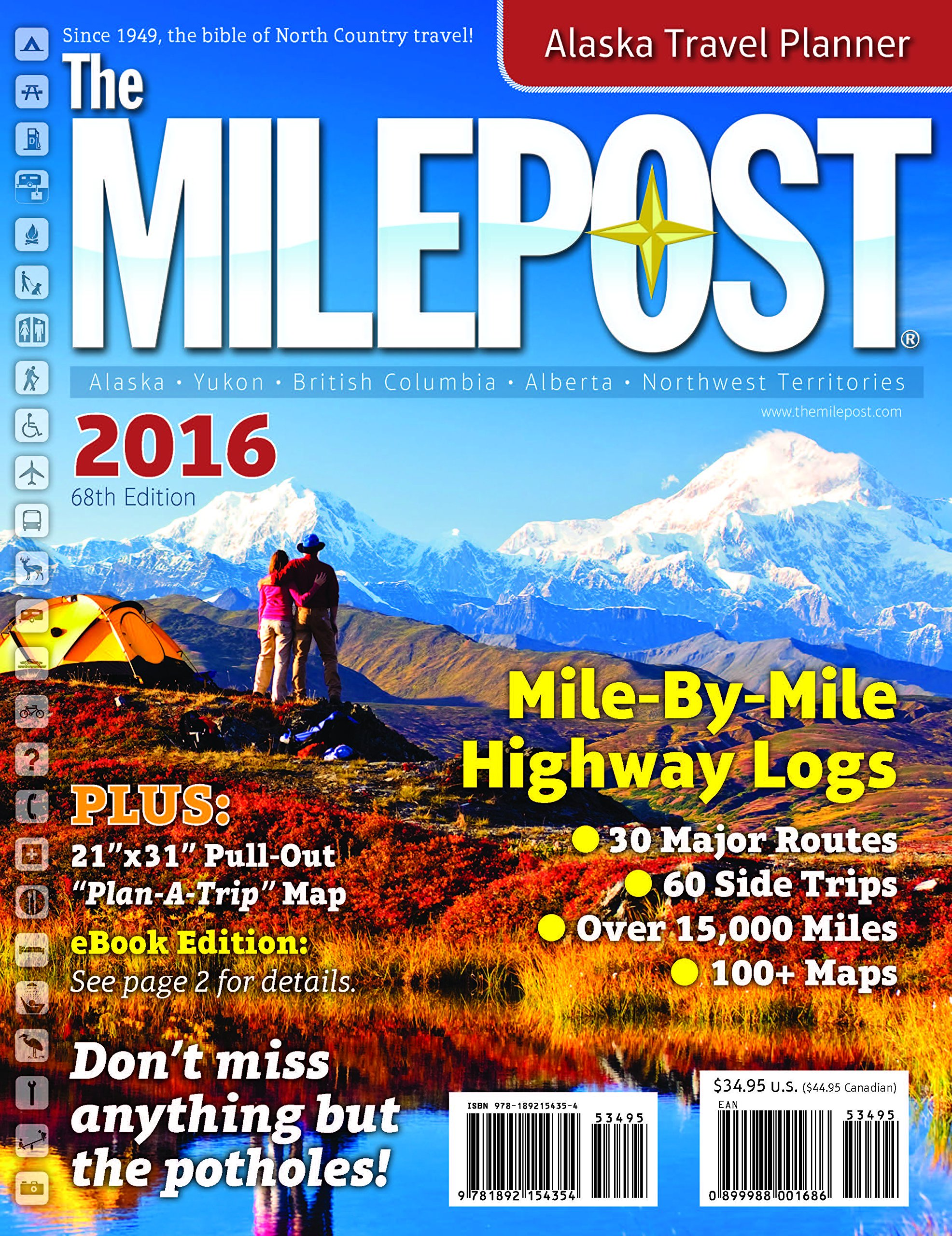 The Milepost Kris Valencia Amazoncom Books - 9 tips for visiting alaska