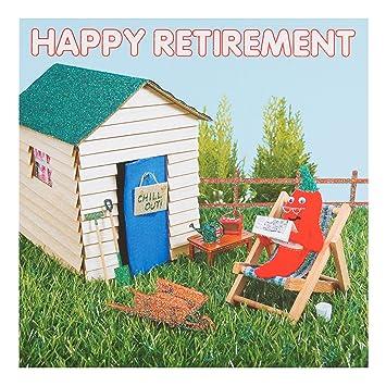 Amazon.com: Tejer y Purl tarjeta de jubilación – feliz ...
