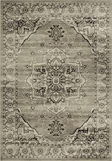 product image for Maples Rugs Distressed Lexington Large Area Rugs Carpet for Living Room & Bedroom [Made in USA], 7 x 10, Neutral
