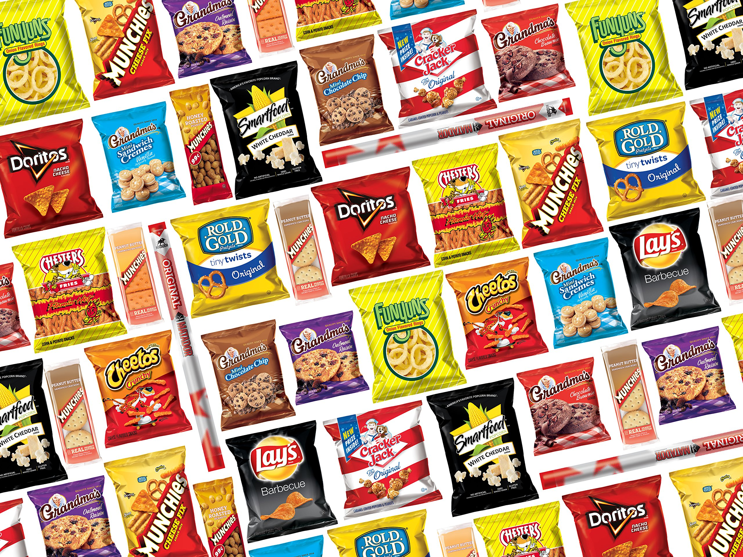 Ultimate Snack Care Package, Variety Assortment of Chips, Cookies, Crackers & More, 40 Count by Frito Lay (Image #2)