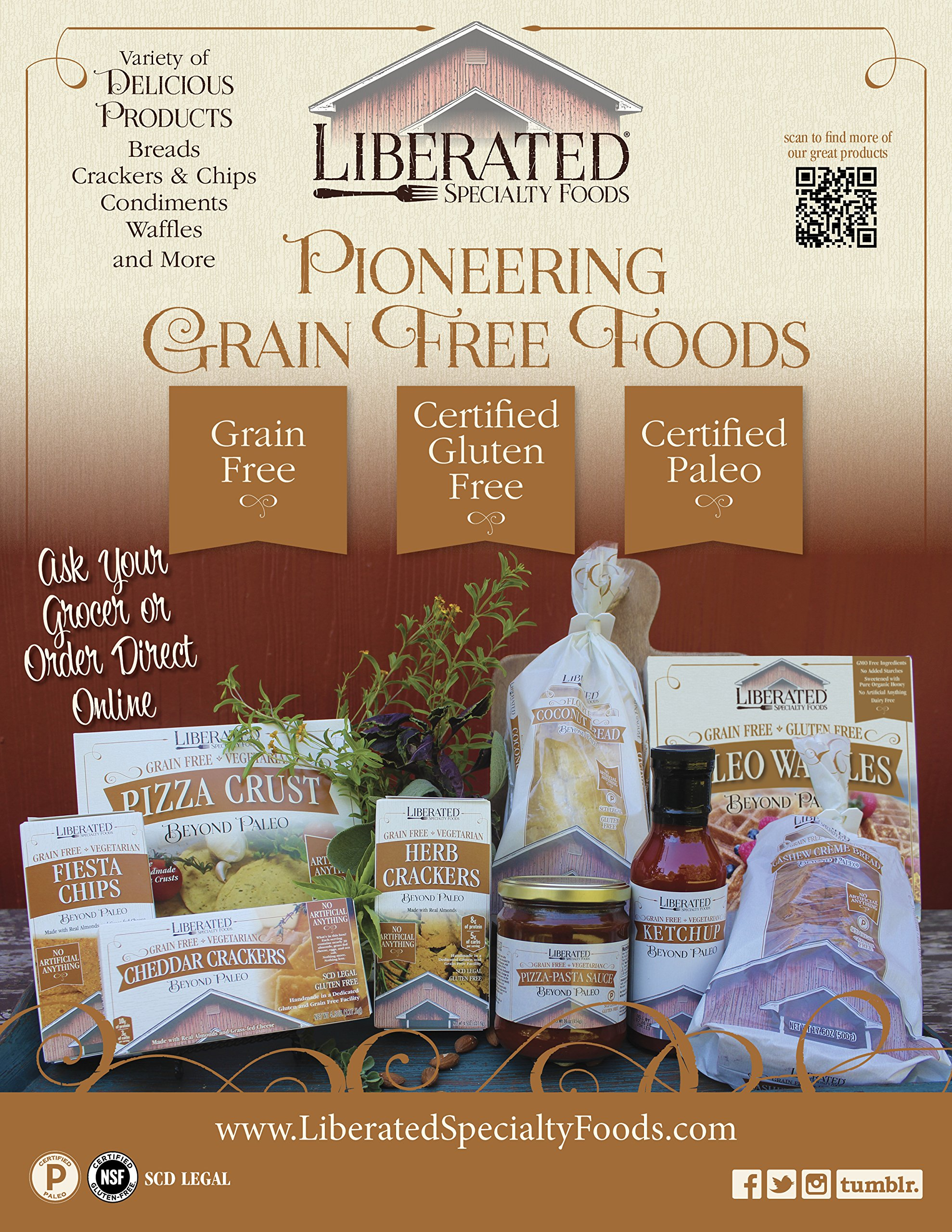Liberated Fiesta Chips, Low Carb by Liberated