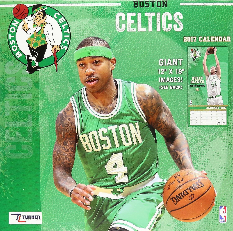 Boston Celtics pared Calendario NBA Baloncesto 2017: Amazon.es ...