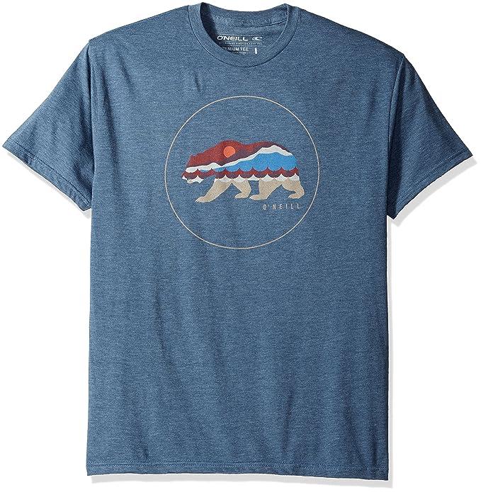 Amazon.com: O\'Neill Men\'s Chester T-Shirt, Navy Heather, 2XL: Clothing
