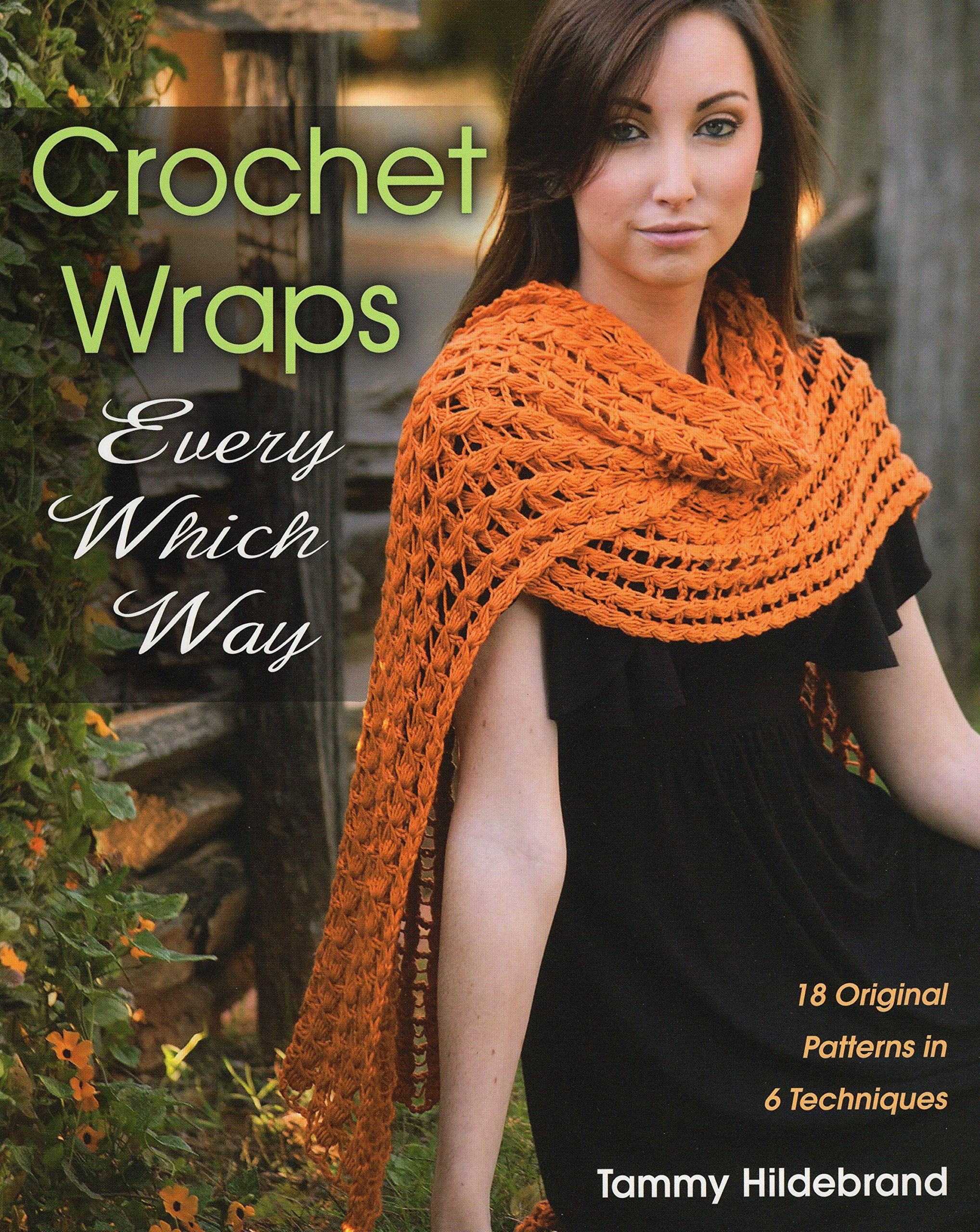 Free Crochet Paperback Book Cover Pattern ~ Crochet wraps every which way original patterns in