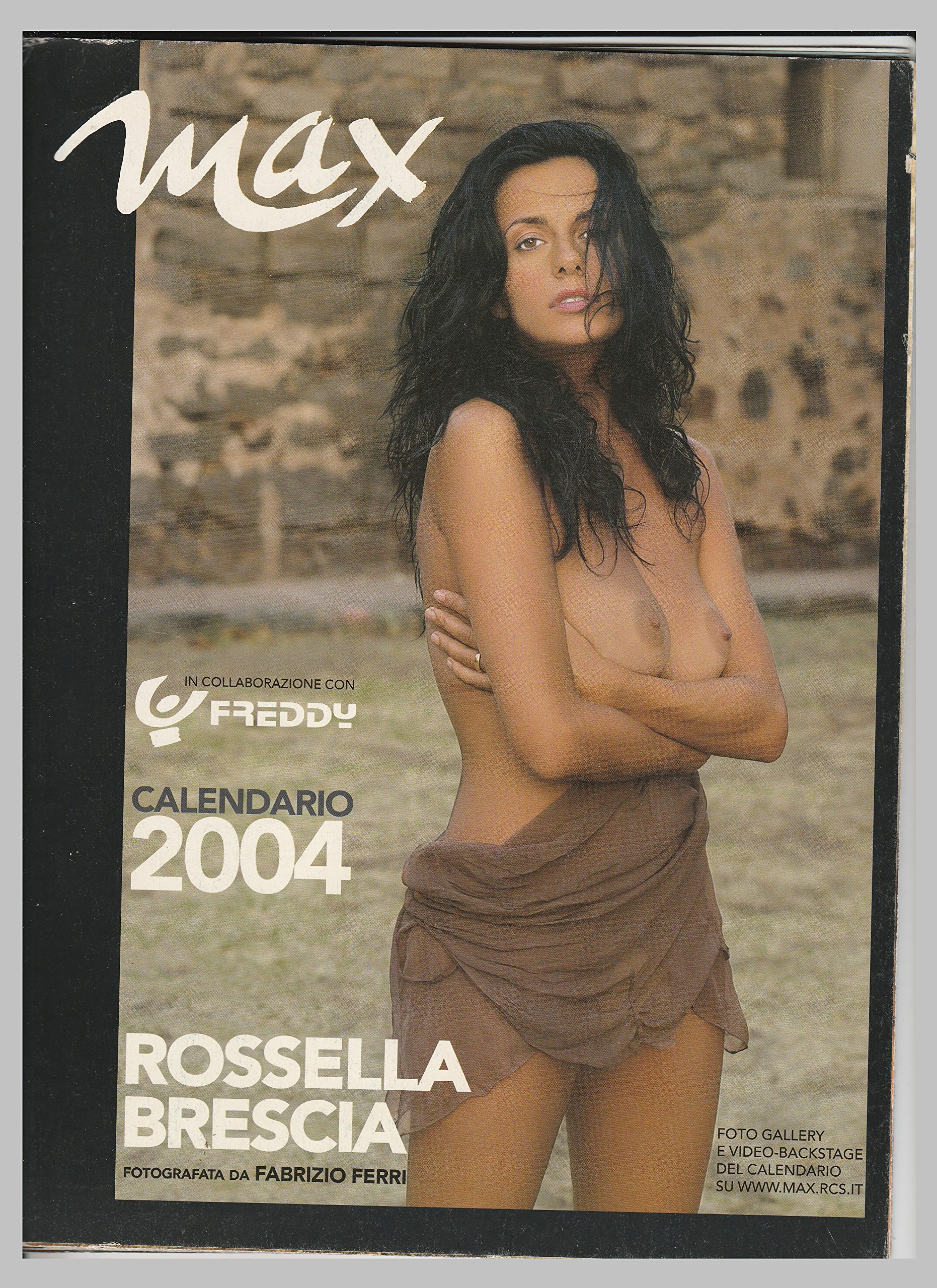 Elisabetta Canalis Backstage Calendario.Calendario Max Con Rossella Brescia 2004 Amazon It