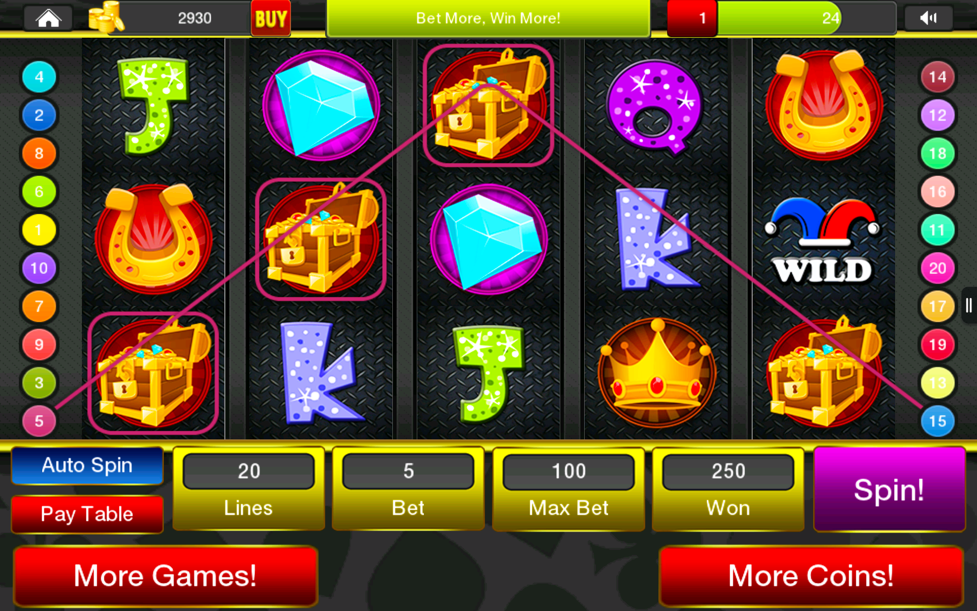 Slots Saga - Casino Royale 3D beziehen – Microsoft Store de-DE