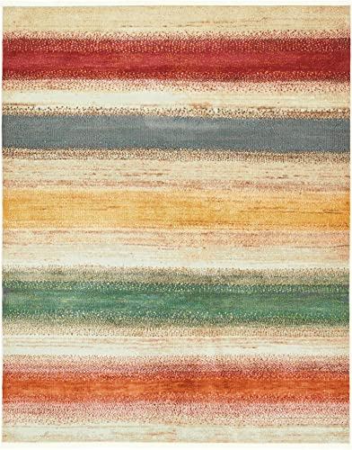 Unique Loom Native Collection Tribal Modern Kids Multi Area Rug 8 2 x 10 0